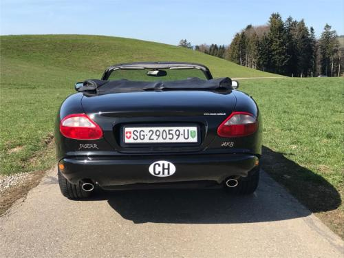 jaguar xk8 cabrio 4-0 schwarz schwarz 1997 0007 Ebene 8