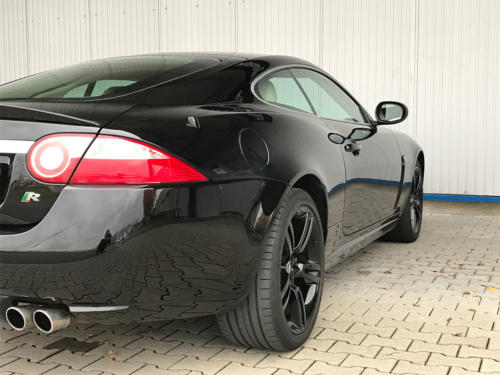 jaguar xkr coupe 4-2 liter supercharched schwarz 2008 0007 8
