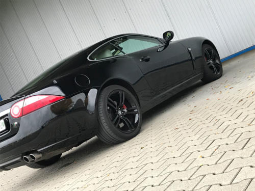 jaguar xkr coupe 4-2 liter supercharched schwarz 2008 0008 9