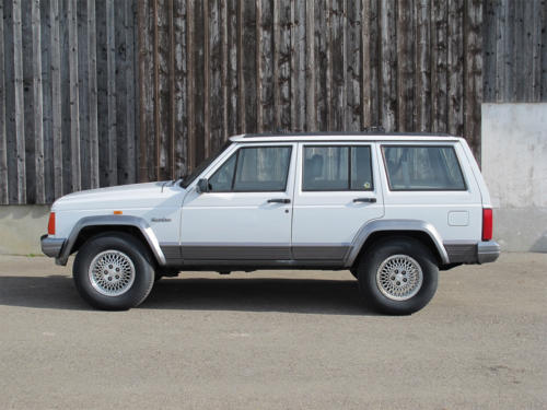 jeep cherokee 4-0 country weiss 1995 0000 1