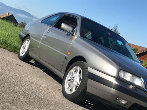 lancia kappa 2-0 turbo coupe silber 1997 0005 6