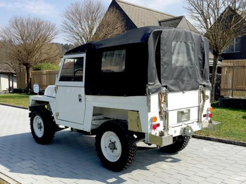 land rover lightweight military 88 III weiss 1976 0001 2