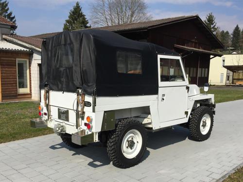land rover lightweight military 88 III weiss 1976 0003 4