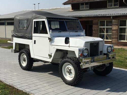 land rover lightweight military 88 III weiss 1976 0005 6
