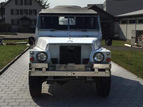 land rover lightweight military 88 III weiss 1976 0006 7