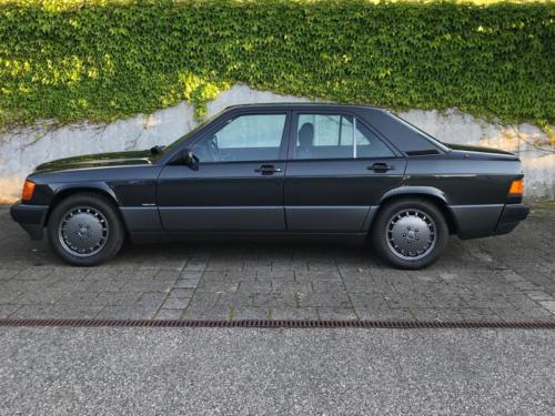 mercedes benz 190 e 2-3 schwarz 1991 0000 1