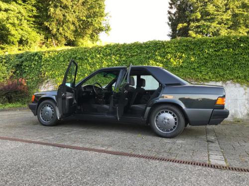 mercedes benz 190 e 2-3 schwarz 1991 0001 2