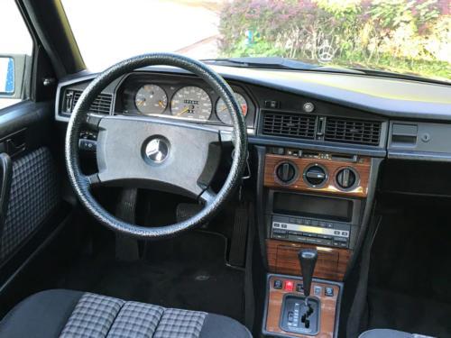 mercedes benz 190 e 2-3 schwarz 1991 0004 5