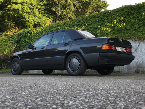 mercedes benz 190 e 2-3 schwarz 1991 0007 8