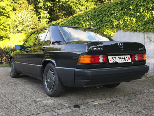 mercedes benz 190 e 2-3 schwarz 1991 0009 10