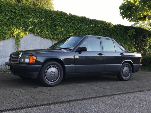 mercedes benz 190 e 2-3 schwarz 1991 0011 12