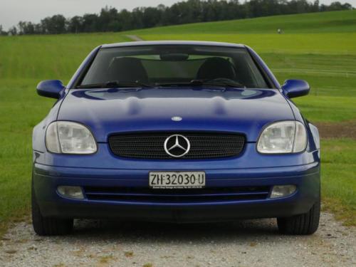 mercedes benz 230 slk automatic dunkelblau metallic 1999 0003 4