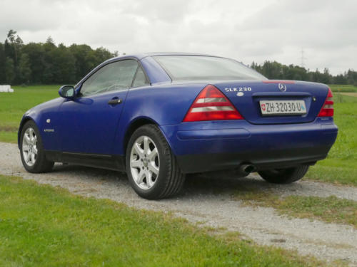 mercedes benz 230 slk automatic dunkelblau metallic 1999 0006 7