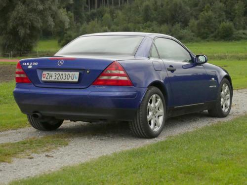 mercedes benz 230 slk automatic dunkelblau metallic 1999 0008 9
