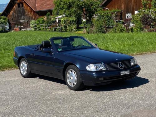 mercedes benz 320 sl cabrio dunkelblau 1997 0001 IMG 2