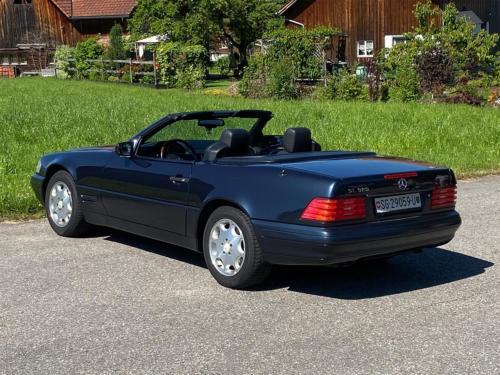 mercedes benz 320 sl cabrio dunkelblau 1997 0002 IMG 3