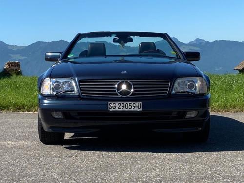 mercedes benz 320 sl cabrio dunkelblau 1997 0004 IMG 5