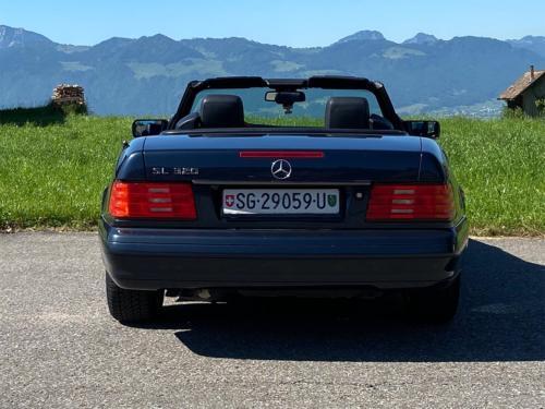 mercedes benz 320 sl cabrio dunkelblau 1997 0006 IMG 7