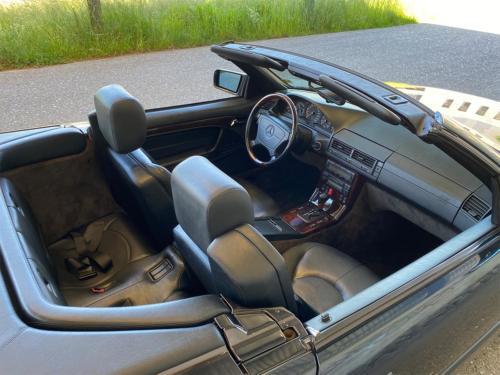 mercedes benz 320 sl cabrio dunkelblau 1997 0010 IMG 11