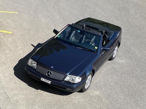 mercedes benz 320 sl cabrio dunkelblau 1997 0014 IMG 15