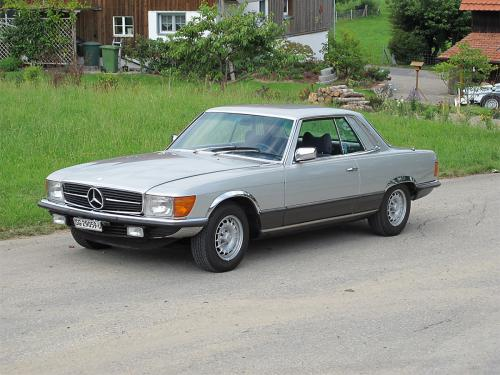 mercedes benz 350 slc coupe w107 silber 1977 1200x900 0001 2