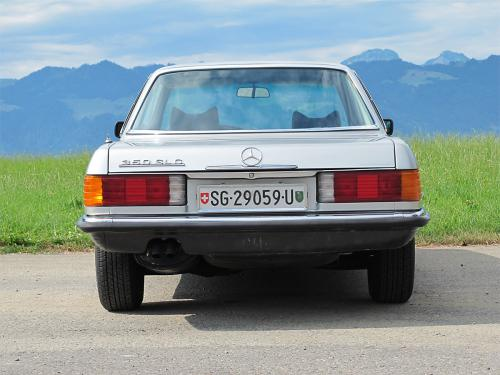 mercedes benz 350 slc coupe w107 silber 1977 1200x900 0004 5