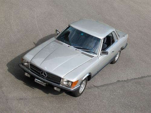mercedes benz 350 slc coupe w107 silber 1977 1200x900 0006 7