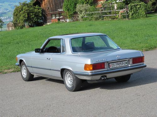 mercedes benz 450 slc coupe silber 1978 1200x900 0002 3