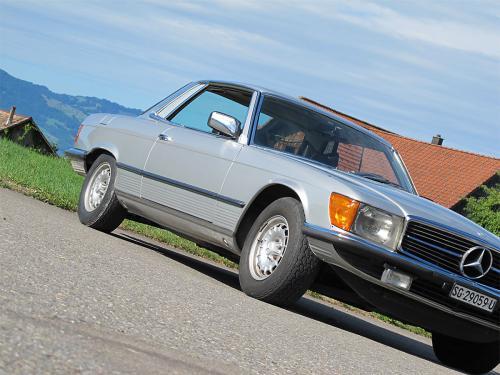 mercedes benz 450 slc coupe silber 1978 1200x900 0004 5