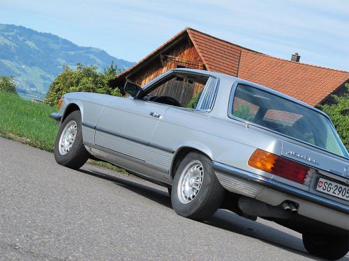 mercedes benz 450 slc coupe silber 1978 1200x900 0006 7