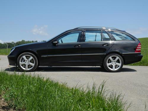 mercedes benz c350 v6 kombi schwarz schwarz 2007 0000 1