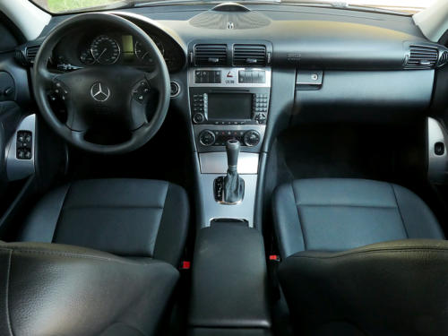 mercedes benz c350 v6 kombi schwarz schwarz 2007 0006 7