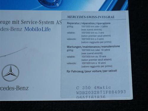 mercedes benz c350 v6 kombi schwarz schwarz 2007 0015 16
