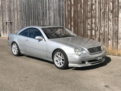 mercedes benz cl 500 coupe brabus silber 2001 0001 Ebene 13