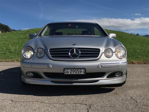 mercedes benz cl 500 coupe brabus silber 2001 0004 Ebene 10