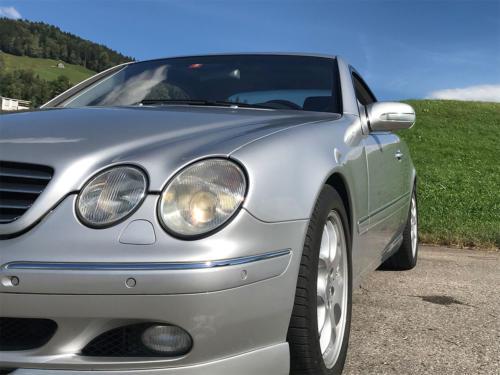 mercedes benz cl 500 coupe brabus silber 2001 0005 Ebene 9