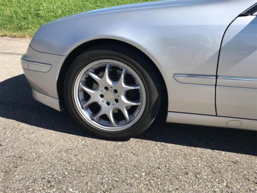 mercedes benz cl 500 coupe brabus silber 2001 0010 Ebene 4