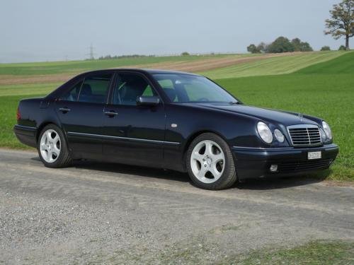 mercedes benz e 430 avantgarde schwarz 1998 0002 3