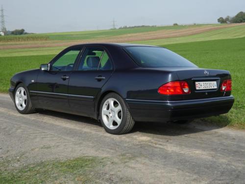 mercedes benz e 430 avantgarde schwarz 1998 0006 7