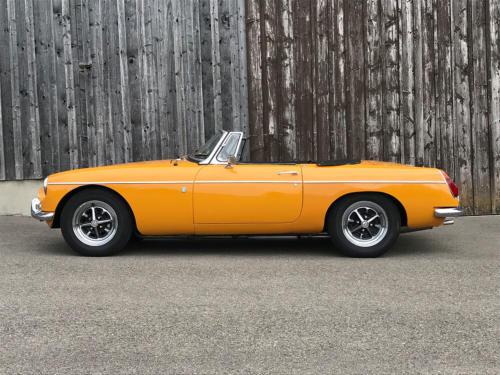 mg b cabriolet dunkelgelb 1972 0000 1