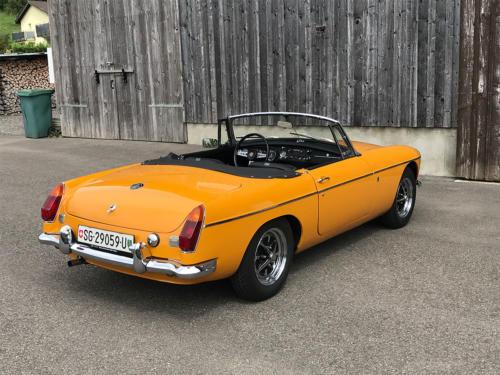 mg b cabriolet dunkelgelb 1972 0005 6