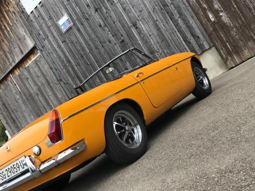 mg b cabriolet dunkelgelb 1972 0006 7