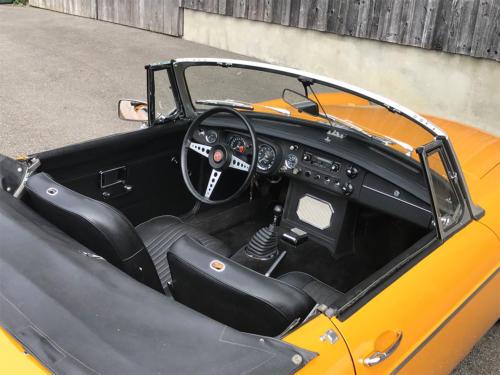 mg b cabriolet dunkelgelb 1972 0008 9
