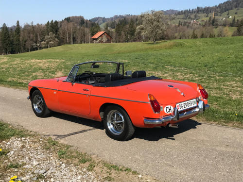 mg mgb cabriolet orange 1974 0002 3