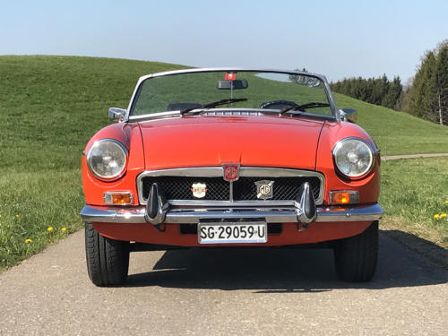 mg mgb cabriolet orange 1974 0003 4