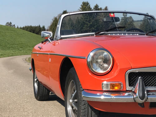 mg mgb cabriolet orange 1974 0004 5