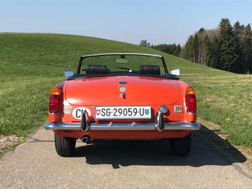 mg mgb cabriolet orange 1974 0006 7
