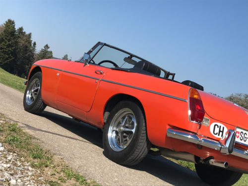 mg mgb cabriolet orange 1974 0007 8