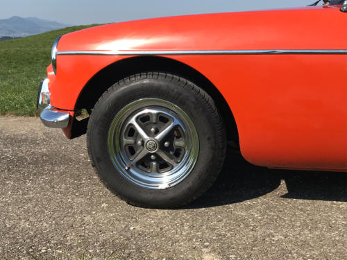 mg mgb cabriolet orange 1974 0008 9