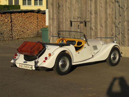morgan roadster plus 4 weiss 1977 0006 Ebene 9